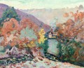 Landscape Of La Cruese La Folie - Armand Guillaumin