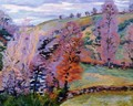 Crozant Landscape Aka Grey Weather - Armand Guillaumin