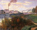 Banks Of The Marne - Armand Guillaumin