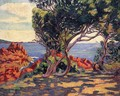 Agay At Cap Long - Armand Guillaumin