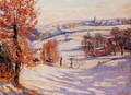 Snow At Crozant - Armand Guillaumin