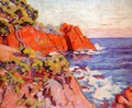 Rocks On The Coast At Agay - Armand Guillaumin