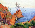 Rocks At Trayas - Armand Guillaumin