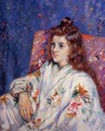 Portrait Of Madeleine - Armand Guillaumin