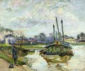 Laundry Boat At Charenton - Armand Guillaumin