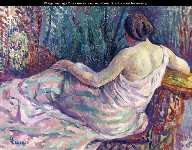 Woman From Behind - Armand Guillaumin
