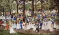 May Day Central Park Aka Central Park Or Children In The Park - Maurice Brazil Prendergast