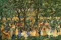 May Day Central Park - Maurice Brazil Prendergast