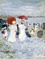 Ladies With Parasols - Maurice Brazil Prendergast