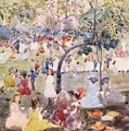 In The Park - Maurice Brazil Prendergast
