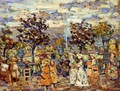 In The Luxembourg Gardens - Maurice Brazil Prendergast