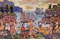 On The Shore - Maurice Brazil Prendergast