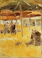 The Orange Market - Maurice Brazil Prendergast