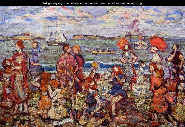 The Inlet3 - Maurice Brazil Prendergast