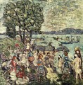 The Bathing Cove - Maurice Brazil Prendergast
