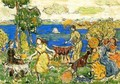 Summer Day Aka St Cloud - Maurice Brazil Prendergast