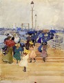 South Boston Pier Aka Atlantic City Pier - Maurice Brazil Prendergast
