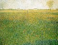 Alfalfa Fields Saint Denis - Georges Seurat