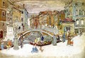 Venice The Little Bridge - Maurice Brazil Prendergast