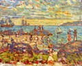 The Point Gloucester - Maurice Brazil Prendergast
