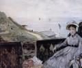 On The Terrace - Berthe Morisot