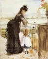On the Balcony 1872 - Berthe Morisot