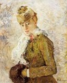 Winter (Woman with a Muff) 1880 - Berthe Morisot