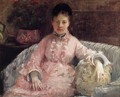 The Pink Dress Aka Poop - Berthe Morisot