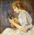 The Mandolin - Berthe Morisot