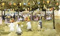 Central Park New York City July 4th - Maurice Brazil Prendergast