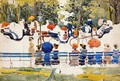 Central Park Aka Central Park New York City - Maurice Brazil Prendergast