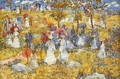 At The Park - Maurice Brazil Prendergast