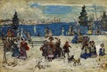 April Snow Salem - Maurice Brazil Prendergast
