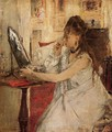 Young Woman Powdering Her Face - Berthe Morisot