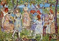 Girls In The Park - Maurice Brazil Prendergast
