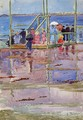 Float At Low Tide Revere Beach Aka People At The Beach - Maurice Brazil Prendergast