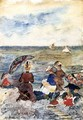 Figures On The Beach3 - Maurice Brazil Prendergast