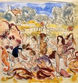 Figures On The Beach2 - Maurice Brazil Prendergast