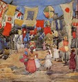 Fiesta Venice S Pietro In Volta Aka The Day Before The Fiesta St Pietro In Volte - Maurice Brazil Prendergast