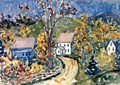 Country Road New Hampshire - Maurice Brazil Prendergast