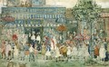 Columbus Circle (New York) - Maurice Brazil Prendergast