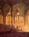 The Chapter House Salisbury Chathedral - Joseph Mallord William Turner