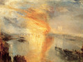 The Burning of the Houses of Parliament (2) 1834 - Joseph Mallord William Turner