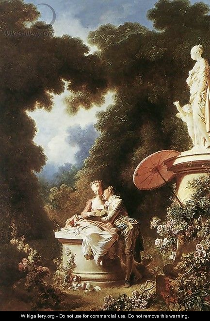 The Confession of Love 1771 - Jean-Honore Fragonard