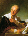 Portrait Of A Man - Jean-Honore Fragonard