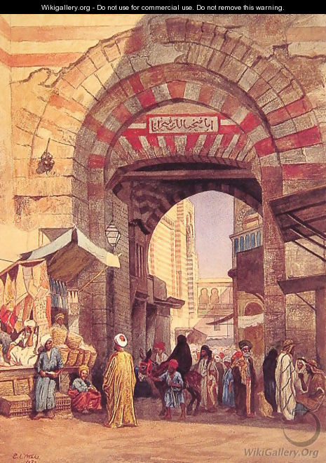 The Moorish Bazaar - Edwin Lord Weeks