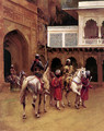 Indian Prince Palace Of Agra - Edwin Lord Weeks