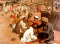 Indian Barbers Saharanpore - Edwin Lord Weeks
