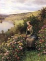 Waiting - Daniel Ridgway Knight
