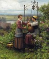 The Conversation - Daniel Ridgway Knight
